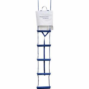 Osculati Rettungsleiter 3, 4 oder 5 Stufen, Notleiter Boot Leiter Schiff Yacht