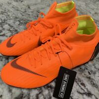 Nike Mercurial Superfly 6 Pro ACC FG Soccer Cleats - Orange - AH7368-810  Sz 8