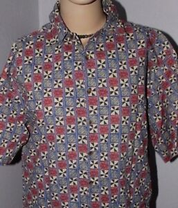 Men's   Travel smith     Button  up      Travel   Shirt     Large
