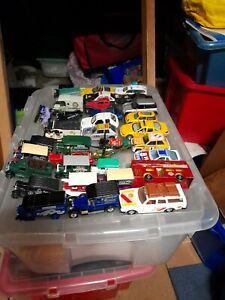 Job lot of Matchbox Corgi Burago car trucks etc Volvo Mini Chevrolet Ford Merced