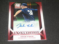 JOSH UHEN ROOKIE CERTIFIED AUTHENTIC SIGNED AUTOGRAPHED BASEBALL CARD #/660