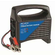 Projecta BATTERY CHARGER 12V 2700mA Thermal Overload Protection *Aust Brand
