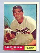 1961 Topps Sandy Koufax # 344 EXMT Dodgers HOF