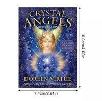 Crystal Angels Oracle Cards Deck Doreen Virtue Cards Tarot Healing Chakra Energy