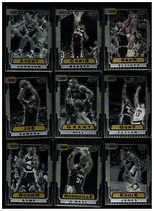 1996-97 BOWMAN'S BEST NBA 20-CARD RETRO SET ALLEN IVERSON RC SHAQUILLE O'NEAL