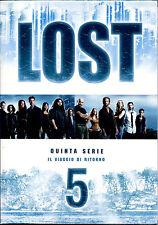 LOST - Stagione 5 - cofanetto 7 DVD NUOVO E SIGILLATO, EDIZIONE ITALIANA