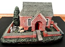 Vtg 1993 Hawthorne Eastbrook Church Strolling Through America Series Hand Paint