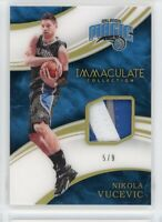 2015-16 NIKOLA VUCEVIC 5/9 PATCH PANINI IMMACULATE COLLECTION