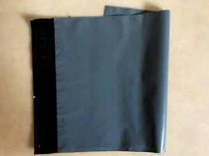 "40 A4 Grey Poly Postal bags 230x310mm (9x12"") Royal Mail large letter parcel bag"