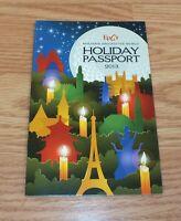 Disney's Epcot Holidays Around the World 2013 Collectible Passport **READ**