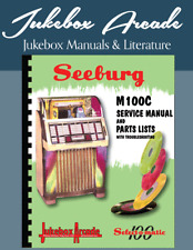 New! Seeburg M100C Service Manual, Parts Lists and Troubleshooting Charts