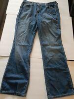 Levis Womens Stretch Denim 515 Boot Cut  Jeans Size 12 L/C Measures 28 x 31