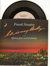 FRANK SINATRA-L.A. IS MY LADY-REPRISE STEREO 45 PIC SLEEVE MINT STORE STOCK
