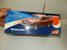 1951 KAISER HENRY J   1.18 SCALE LIMITED ISSUE  1.18 SCALE  IN THE BOX  BURGANDY