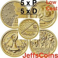 2018 2019 PD Innovation Dollar All 10 Issue Set Intro DC DE PA NJ GA LowCost P D