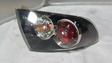 MAZDA 3 BK SEDAN TAIL LIGHT LEFT PASSENGER CLEAR 2004 2005 2006