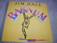 Jim Dale Barnum Broadway Musical Soundtrack LP CBS 1980 Glenn Close