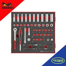 TED1489 - Teng Tools - 1/4 Drive Socket and Bit Set Ratchet - 89 Piece