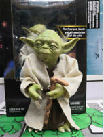 Star Wars The Force Awakens Jedi Master Yoda Action Figure Toy 18cm Collection