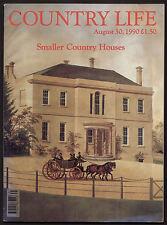 Country Life Aug 1990 CLEEVE HALL GLOUC HILLBARN HOUSE WILTS ELLEN TERRY LUTYENS