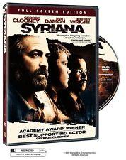 Syriana - Full Screen - DVD - George Clooney