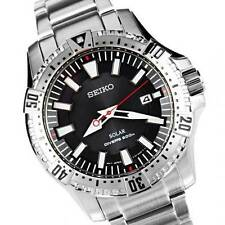 Seiko Mens Solor Drivers 200m Watch SNE293P1 Warranty,Box,RRP:£250