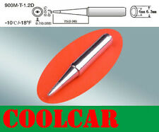 NEW SOLDERING STATION Tip 900M-T-1.2D Lead Free FOR ATTEN 935 936 938 969 980 OZ
