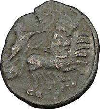 CONSTANTINE I the GREAT Heaven Chariot Ancient Roman Coin Deification  i37508