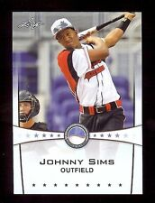 JOHNNY SIMS 2013 Leaf *POWER SHOWCASE* World Classic Baseball Card RC