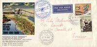 BUSTA ITALIA PRIMO VOLO ROMA - TORINO 1967 ITALY FIRST FLIGHT