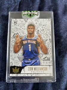 2019-20 Panini Court Kings ZION WILLIAMSON Level 3 Very Clean Ready For Grading