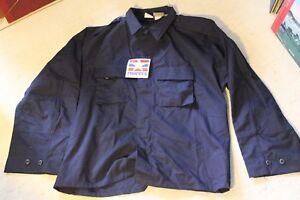 PROPPER XXL Navy Blue BDU Jacket Police Military NWT