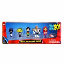 Teen Titans Go Figure Robin Raven Beast Boy Starfire Figurine Model Kids Toy UK