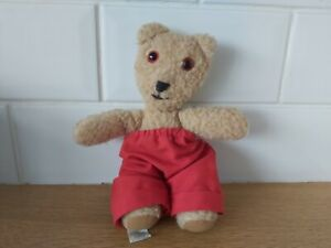 RARE Jane Hissey Little Bear red trousers Old Bear collectable 1986 Furrytails