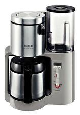 Siemens TC86505 Urban grey/schwarz 12 Tassen Filter-Kaffeemaschine