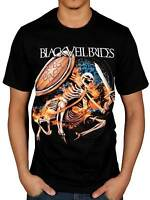 Official Black Veil Brides Skelewarrior T-Shirt Rock Wild Ones Band Skull Merch