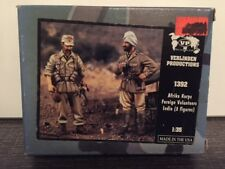VERLINDEN Productions Afrika Korps Foreign Volunteers India 2 Figures 1:35 #1392