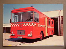 R&L Postcard: East Sussex Fire Brigade Anglo Bedford Engine, Judges