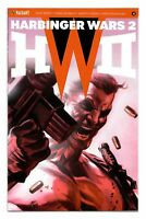 HARBINGER WARS 2 #4 1:50 MASSAFERA ICON VARIANT BAGGED BOARDED VALIANT VEI VF