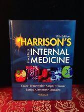 Harrison's Principles of Internal Medicine Vol 1 17th ED  Fauci Braunwald Kasper