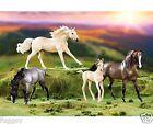BREYER HORSES Cloud's Encore Classic 4 Horse Gift Set 1:12 Scale 1728