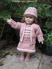 """Poupées vêtements en tricot motif """"bretagne"""" de taille pour s'adapter 46cms poupées & american girl"""