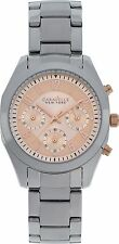 Caravelle New York Ladies' Melissa Blush Easy Read Dial Chronograph Watch New
