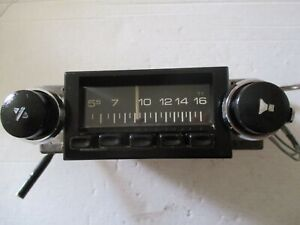 HOLDEN LH TORANA or HJ HX AIR CHIEF 11 PUSH BUTTON RADIO MONARO SLR PREMIER