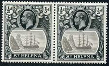 St Helena SG97 1/2d Grey and Black U/M PAIR