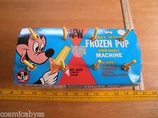 Mickey Mouse Club Frozen pop makers Mip 1970's Eagle Disney