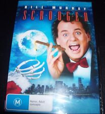 Scrooged DVD - & Bill Murray Karen Allen Christmas Comedy