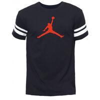 Camiseta Hombre t-shirt men mangas blancas 23 chicago bulls Michael Jordan