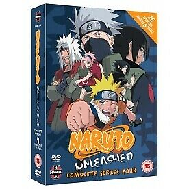 Naruto Unleashed Complete Series 4 DVD