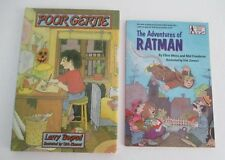 Lot of 2 DIRK ZIMMER Illustrated Books: Poor Gertie by Bograd & Ratman by Weiss
